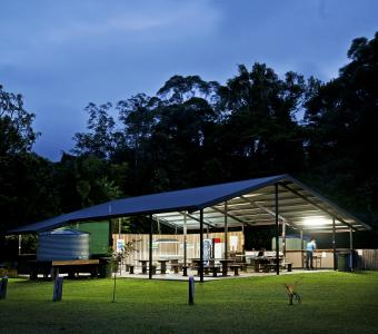 Cape Trib Camping - Camp Kitchen